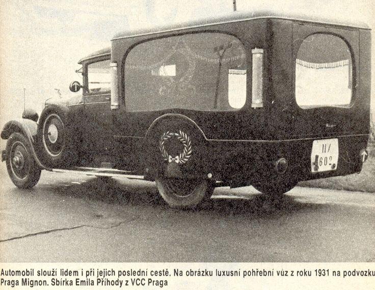 Praga Mignon (1931). Sbírka Emila Příhody z VCC Praga