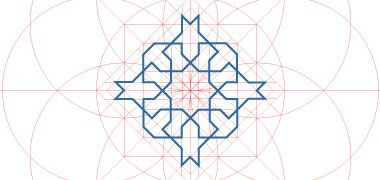 Arabic / Islamic geometry - as said in one of the pins the amalgam of distinct geometric languages. its a whole larger than the sum of its parts