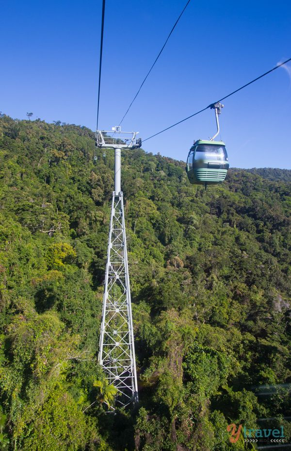 Riding the Skyrail Rainforest Cableway and Kuranda Scenic Railway in Cairns - Australia