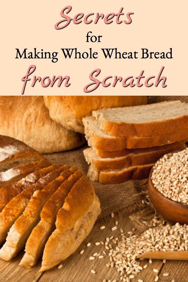 Secrets for Whole Wheat Bread Baking