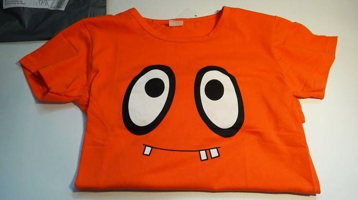 Детская футболка в посылке из Китая