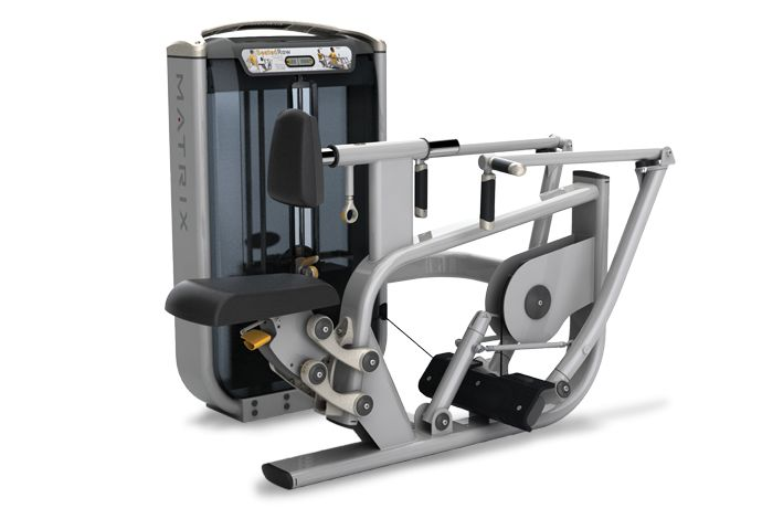 Diverging Seated Row : Matrix Fitness Equipment