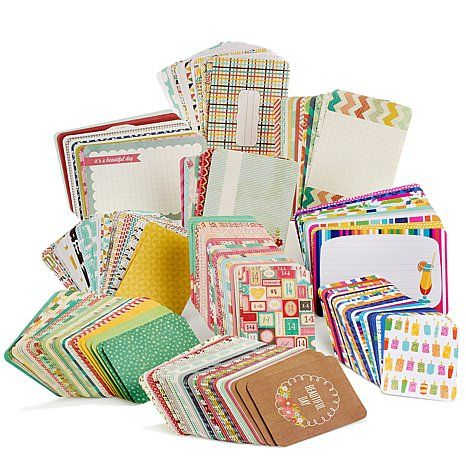 Project Life Assorted Themed Journaling Cards