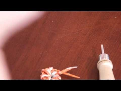 Коренушки, кореноватки, корешатики из бумажных трубочек. Часть 1. - От Елены тищенко