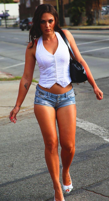Hot girl in tiny tight short shorts | Girls girls girls ...