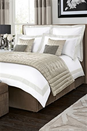 Buy The Collection Jacquard Border Bed Set from the Next UK online shop