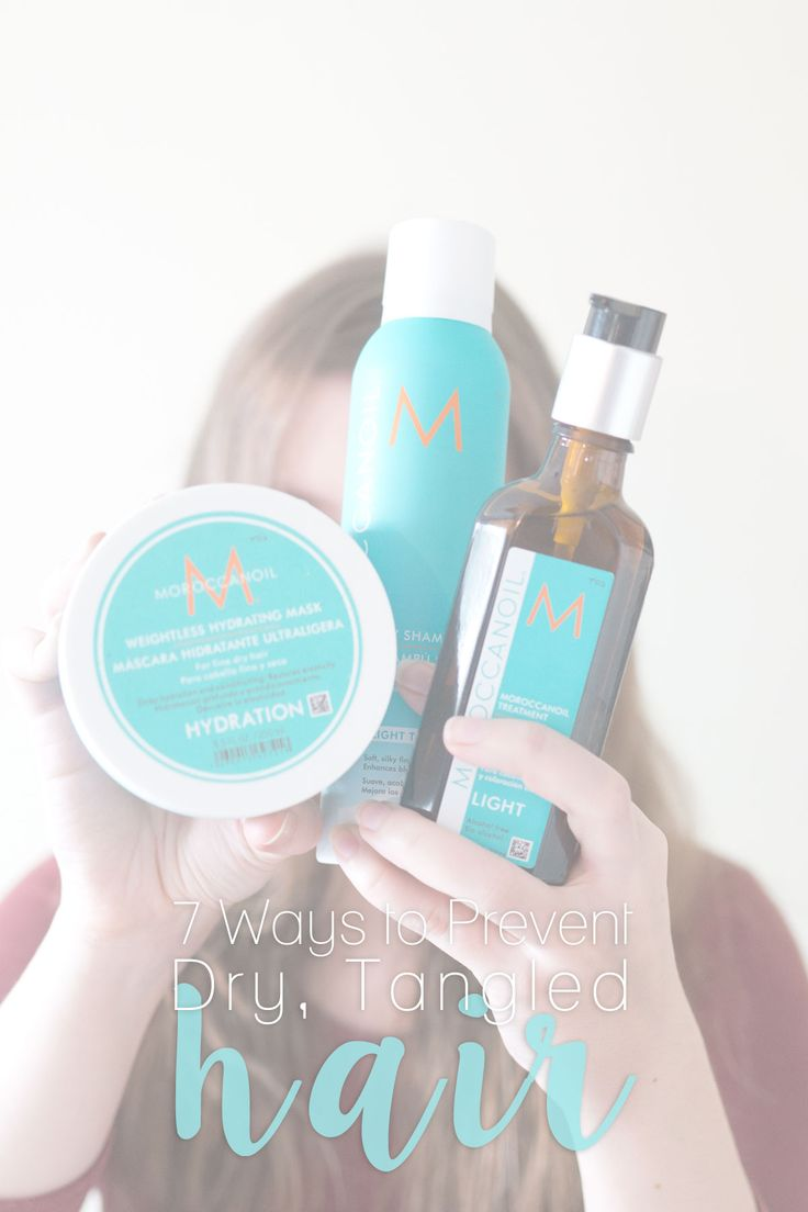 Suffer from dry tangled hair during winter time or all year round? After battling the knots for years, I've finally figured out 7 ways to prevent the tangles from taking over your mane with @moroccanoil! #ad #ArganEveryday http://hellorigby.com/ways-to-prevent-dry-tangled-hair/