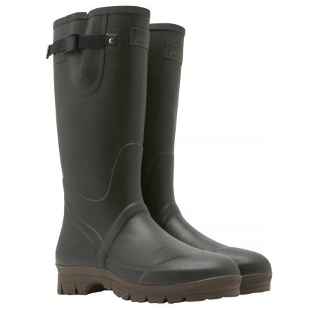Joules Mens Neoprene Wellies - Take on the mud in style with Joules' rugged mens wellington boots!