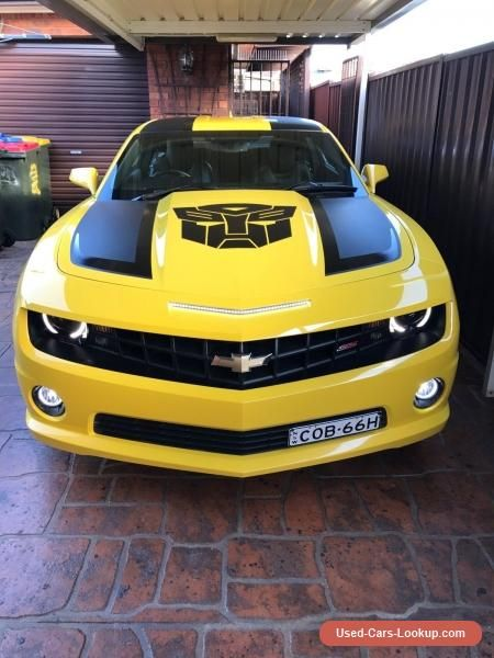 2012 Chevrolet Camaro 2SS RS Coupe Manual #chevrolet #camaro #forsale #australia
