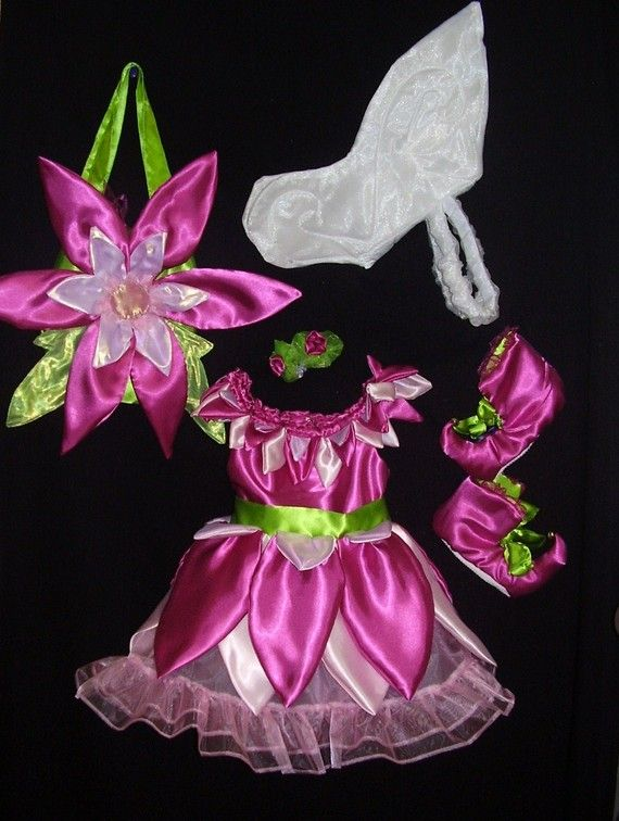 Toddlers Fairy Costume Set