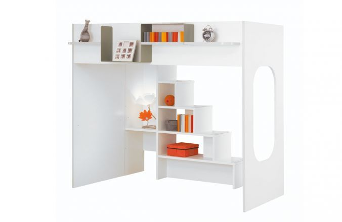 lit haut 90 x 200 collection be bop fabricant de meubles gautier 1035 euros beds for kids. Black Bedroom Furniture Sets. Home Design Ideas