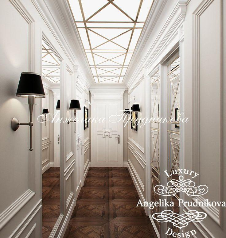 Гостиная в классическом английском стиле - фото