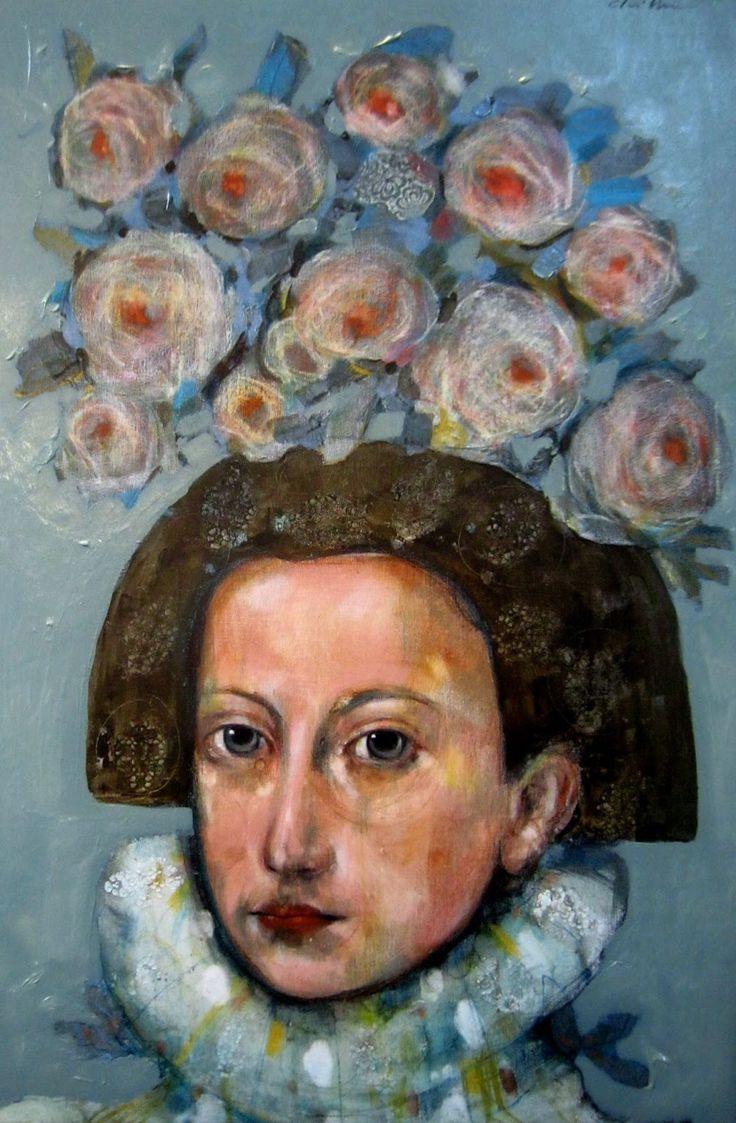 Menina-con-flores - Sebastian Chillemi