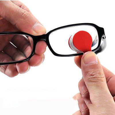 2 unids Mini Sun lente de Los Vidrios de Microfiber Brush Cleaner Nueva venta al por mayor El Envío Libre