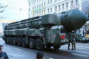 Russian RT-2PM2 Topol-M.