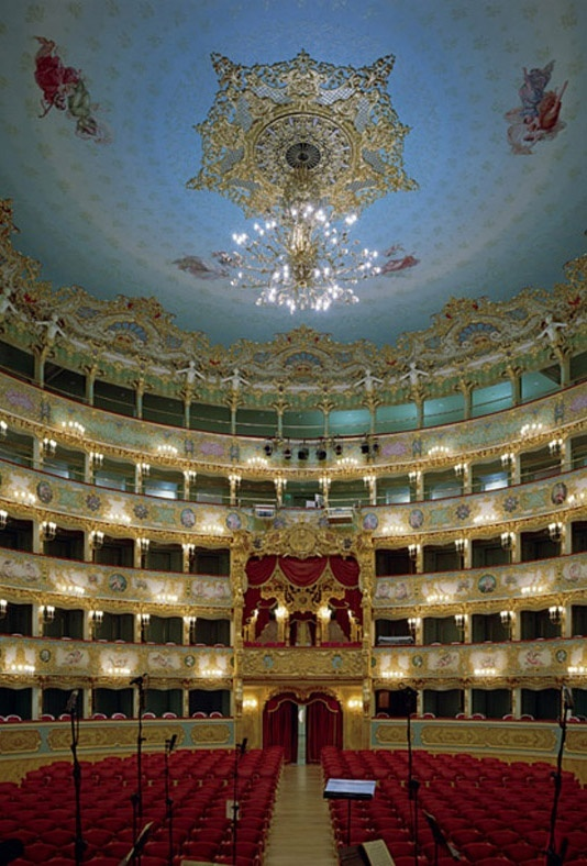 Teatro La Fenice, Venice, Italy (via traveleditions.co.uk)