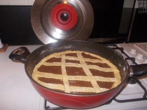 Crostata Magic Cooker , alla Nutella