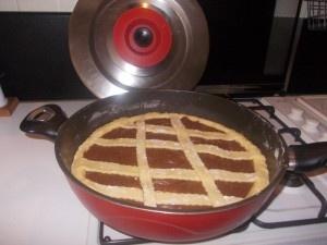 Crostata Magic Cooker , alla Nutella