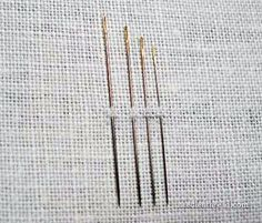5 Things to Know About Hand Embroidery Needles - find out why you aren't supposed to lick your thread when you thread your needle
