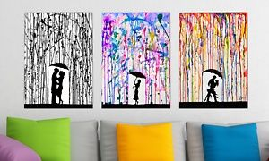 "Groupon - Marc Allante 25""x18"" Rain Silhouette Art Prints in [missing {{location}} value]. Groupon deal price: $27.99"
