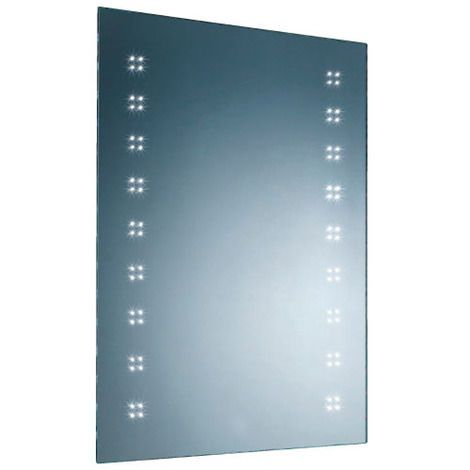 Led Bathroom Mirror With Demister Pad And Infrared On Off Switch From Bathstore