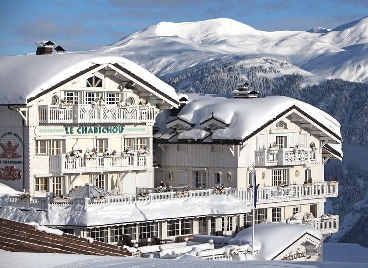 Hôtel Le Chabichou Restaurants & Spa. Courchevel 1850, France. #RelaisChateaux #Chabichou #LeChabichou #Courchevel #Ski #Neige #Snow #Skiing #Chalet