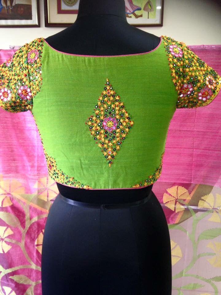 110 Best Saree Blouses Images On Pinterest Blouse Patterns