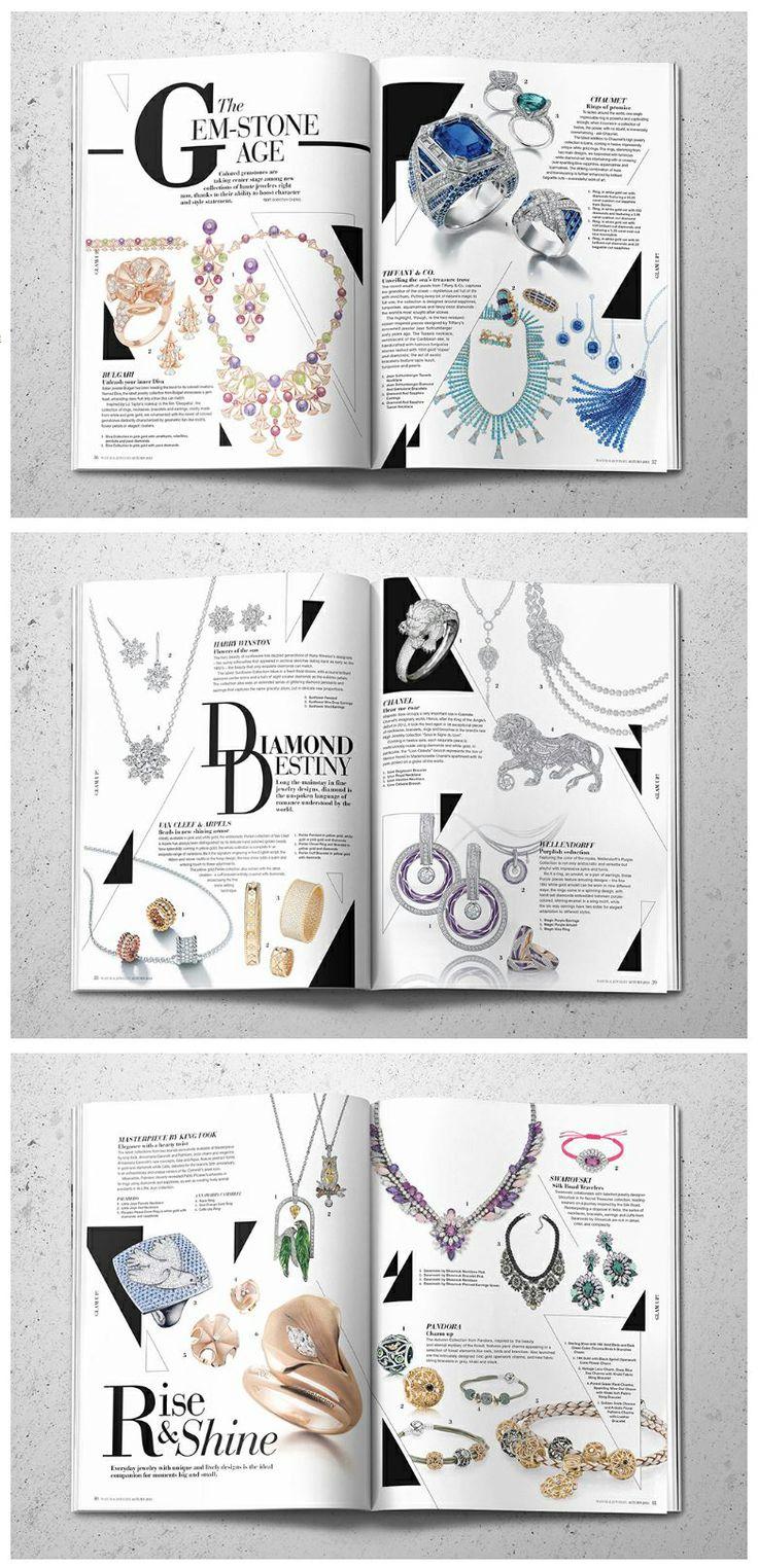 Editorial Design  Watch & Jewellery Magazine