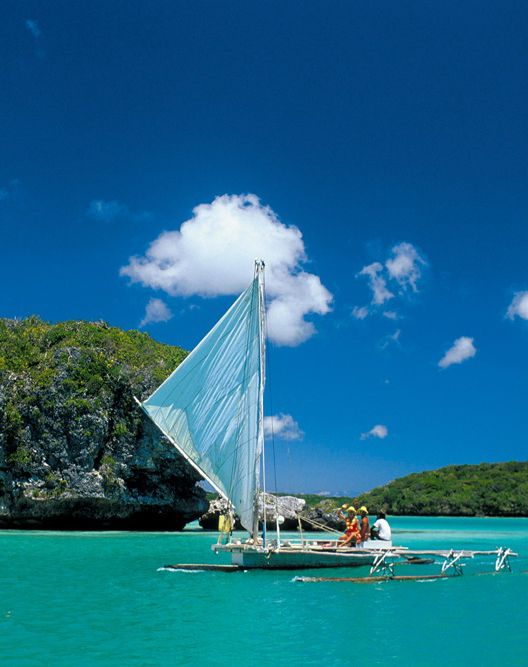 Sailing // The Isle of Pines, New Caledonia, France