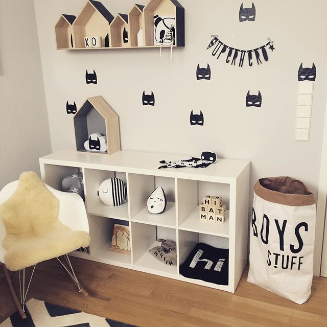Baby boy play room inspirations. Clean modern and eco-friendly design in minimalistic Scandinavian style.