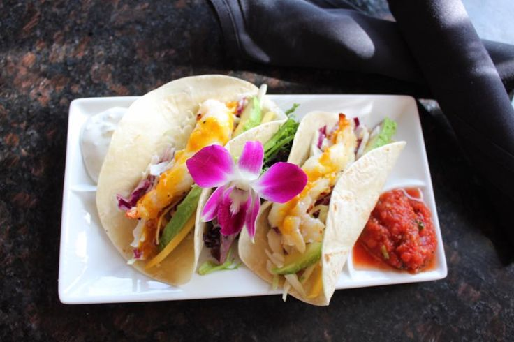 Lobster Tacos Blue Martini Lounge