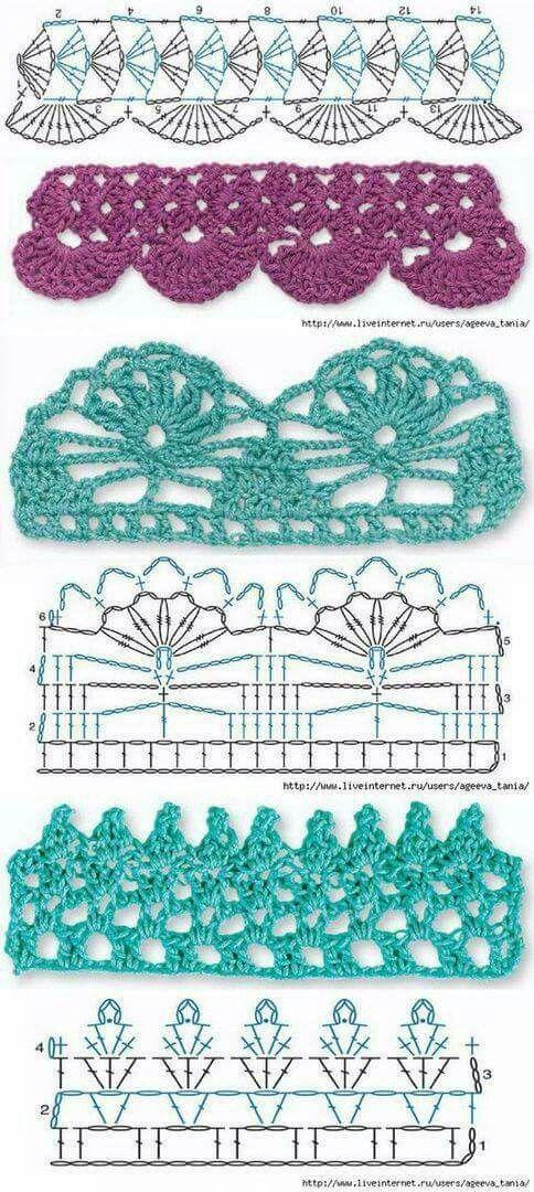 8016 best Crochet images on Pinterest   Filet crochet, Knit crochet ...