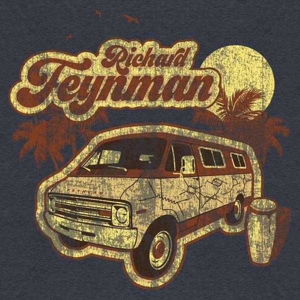 Richard Feynman T-Shirt #UnderRepped