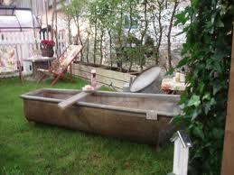 Badekar i hagen