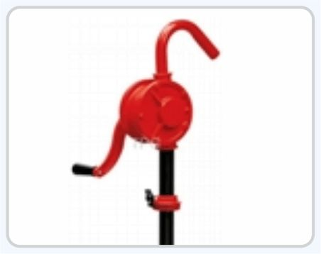 Rotary Oil Pump Head Operated Pump is made from Cast Iron Used for Pumping Diesel, Gasoline, Oil Kerosine