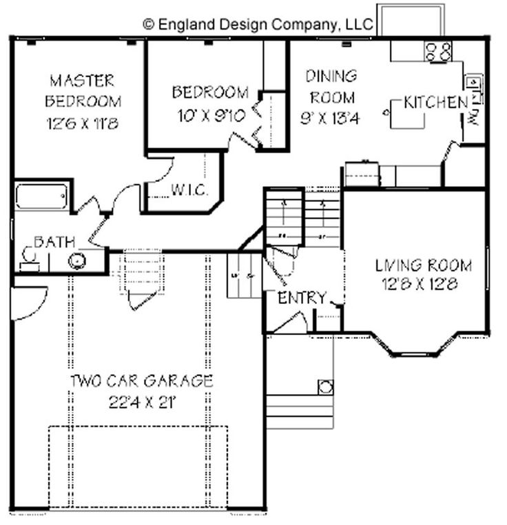17 Best Images About Split Level Floor Plans On Pinterest
