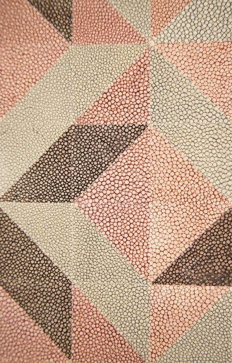 Rupert Bevan - Interior Finishes - Dyed Shagreen Mosaic