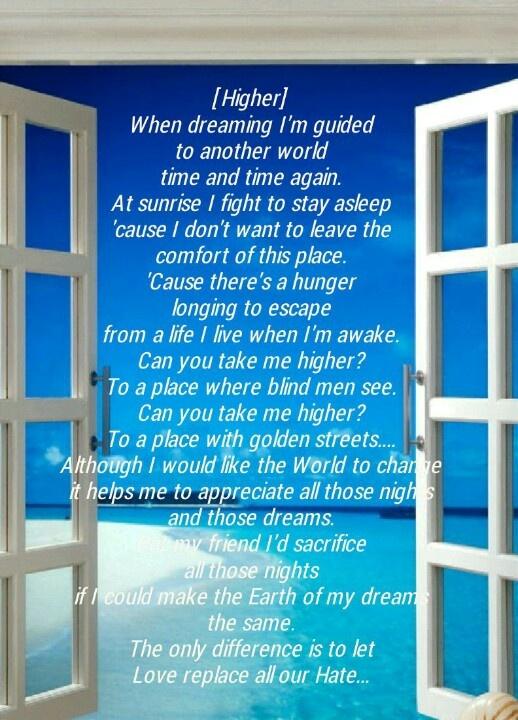 Creed [Higher] | Song Lyrics ♡ | Pinterest | Love and Lyrics