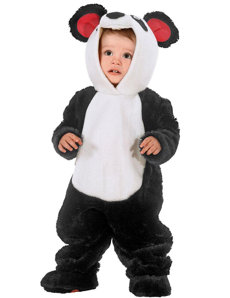 Dit panda kostuum voor baby's zal perfect geschikt zijn om uw kleine kind te veranderen in een schattige panda! - Nu verkrijgbaar op Vegaoo.nl