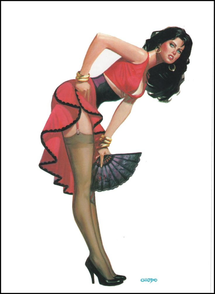 Adult fantasy pin up art
