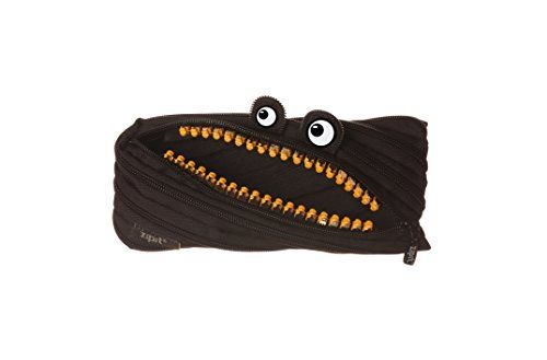 ZIPIT Grillz Pencil Case, Black - The Quick Gift