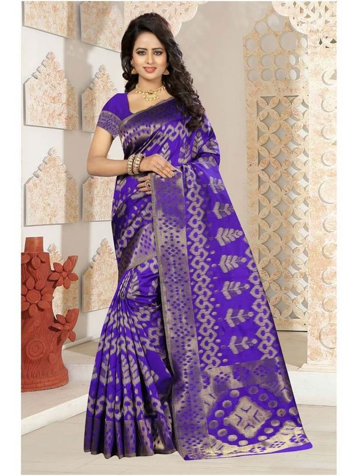 Indian Women Party wear Loest Price Saree- Blouse Asian Women Online Shopping #Handmade #Saree