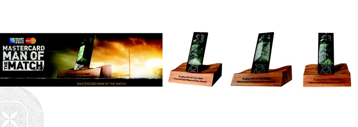 man of match trophies for rugby world cup 2011
