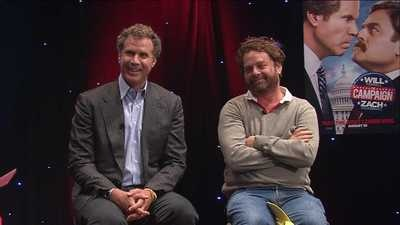 Will #Ferrell & Zach #Galifianakis greeted Chicago-style on WGN #video #TheCampaign: Greeting Chicago Styl, Celebrity Talk, Videos Thecampaign, Galifianakis Greeting, Zach Galifianakis, News Fun, Wgn Videos, Wgn Mornings, Mornings News
