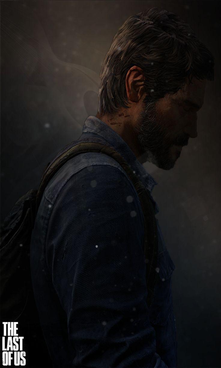 The Last of Us Mobile Wallpaper - Joel [HD] by ~LukeOlfert on deviantART--
