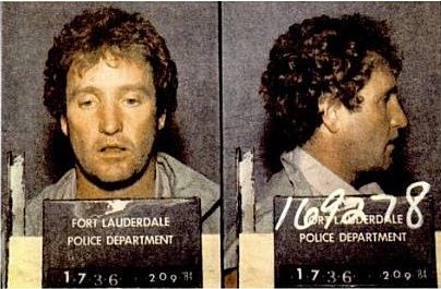This Day in History: Feb 13, 1984: Gang leader Andre Stander is shot dead http://dingeengoete.blogspot.com/ http://www.brightreview.co.uk/Stander%20Mugshot.jpg