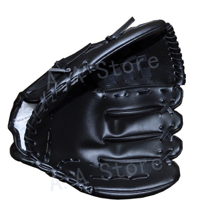 Anyfashion Baseball Gloves New Portable Dark Brown Durable Men Softball Baseball Glove Sports Player Preferred 12.5 inch