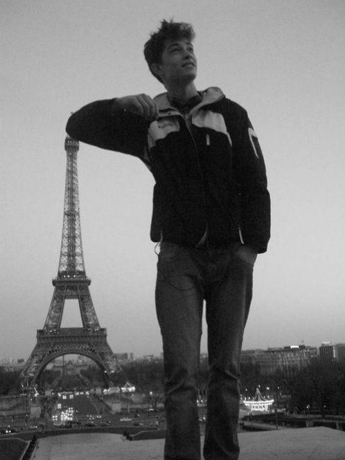 Francisco Lachowski in Paris, France
