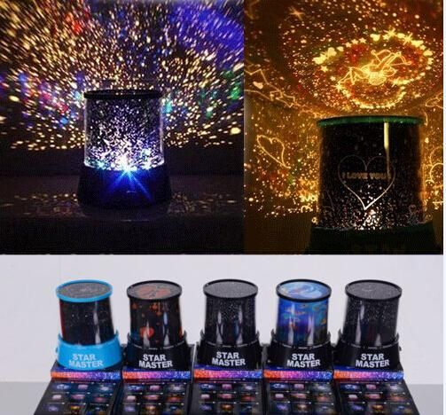 Colorful 8 Style To Choose Led Cosmos Star Master Sky Starry Night Projector Light Lamp Kid'S Good Gift From Lightmall, $9.22   Dhgate.Com