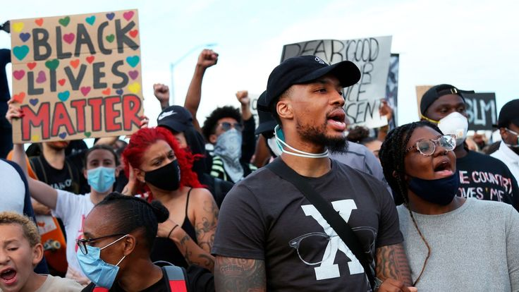 Damian Lillard On Why He Doesn T Trust The Police Either Black Lives Damian Lillard Black Lives Matter